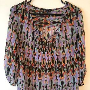 Colorful Express Blouse